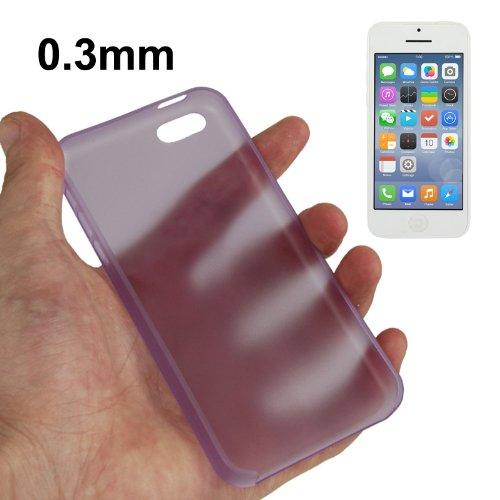"iPhone 5C Premium Hülle / Case / Cover in lila aus robustem Polycarbonat im ""Ultra-Slim-Style"" -Original nur von THESMARTGUARD-"