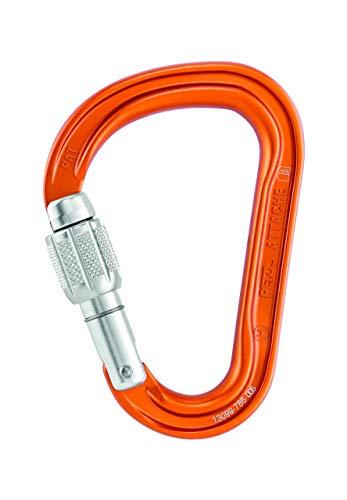 PETZL Attache Screw-Lock Carabiner - Orange ()