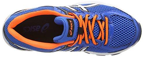 ASICS Gt-1000 4 Gs - Zapatillas de correr unisex Azul (Electric Blue/White/Orange 3901)