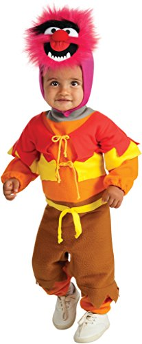 Muppets Animal Costume (Muppets Toddler EZ-on Romper Costume - Animal)