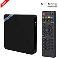 ESHOWEE Mini Smart Android 6.0 TV Box M8S II Amlogic S905X Quad Core VP9 UHD 4K 2G/8G DLNA Airplay Miracast