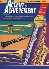 Accent on Achievement Band Method (Eb Alto Saxophone, Book 3)