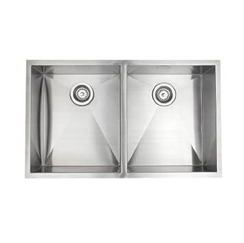 pegasus zr2033 33 inch by 20 inch double bowl kitchen sink rh amazon com