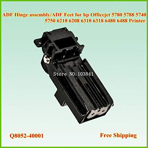 Printer Parts Q8052-40001 ADF Hinge Assembly for hp Officejet 5780 5788 5740 5750 6210 6208 6310 6318 6480 6488 ADF Feet by Yoton (Image #1)