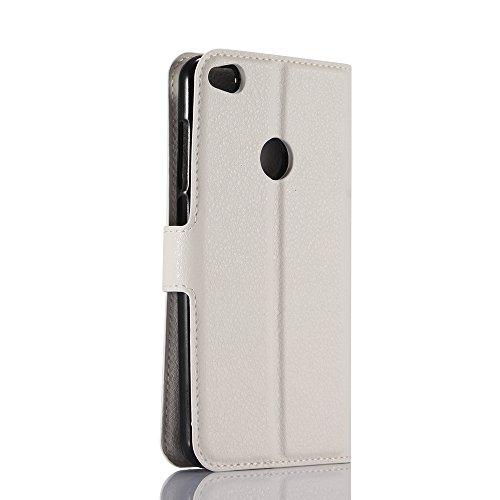 Manyip Funda Huawei P8 Lite(2017)/P9 Lite(2017),Caja del teléfono del cuero,Protector de Pantalla de Slim Case Estilo Billetera con Ranuras para Tarjetas, Soporte Plegable, Cierre Magnético(JFC5-9) I