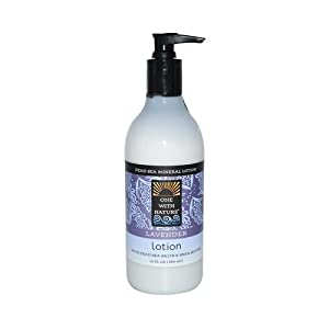 One With Nature Dead Sea Mineral Restorative Hand and Body Lotion Lavender -- 12 fl oz