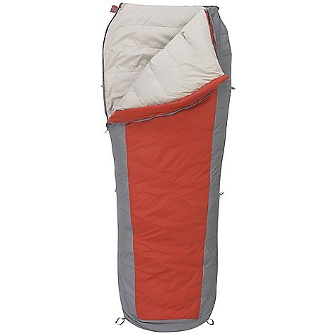 Kelty Coromell 25 Degree Down Sleeping Bag, Regular, Molten Lava, Outdoor Stuffs