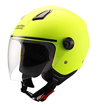UNIK - Casco Jet CJ-16 Amarillo (XL)