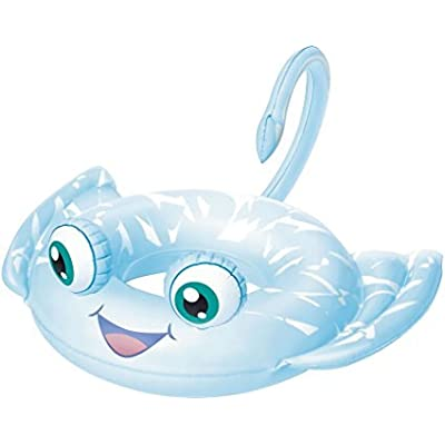 B H2O Go! Animal Inflatable Pool Swim Ring (for Ages 3 to 6) (Blue Stingray): Toys & Games