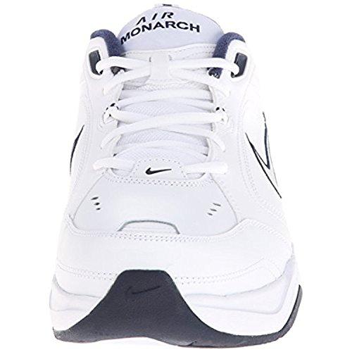 Para hombre Aire Monarch Iv las zapatillas de running White/Navy/Silver