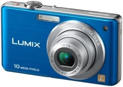 Panasonic Lumix Dmc Fs7 Digitalkamera 2 7 Zoll Blau Kamera