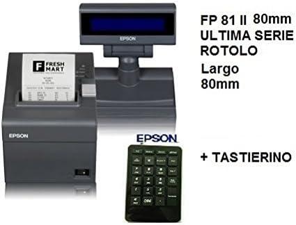 IMPRESORA EPSON FISCAL FP 81 II-80 MM CASSADIRETTO.IT PANTALLA Y ...