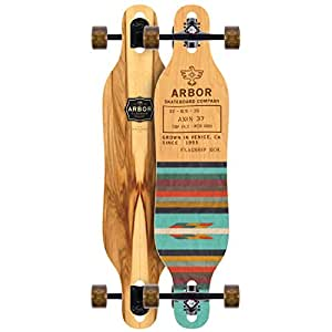 "Arbor Axis 37"" Flagship Complete Longboard"