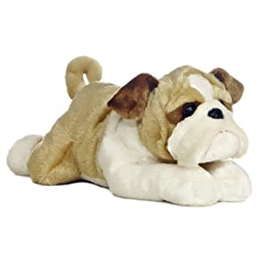 "Aurora World Flopsie 12"" Stuffed Bulldog Willis - 41Zlav6Pp8L - Aurora – Flopsie – 12″ Wills"