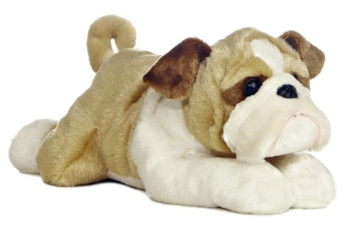 Aurora Flopsie Stuffed Bulldog Willis