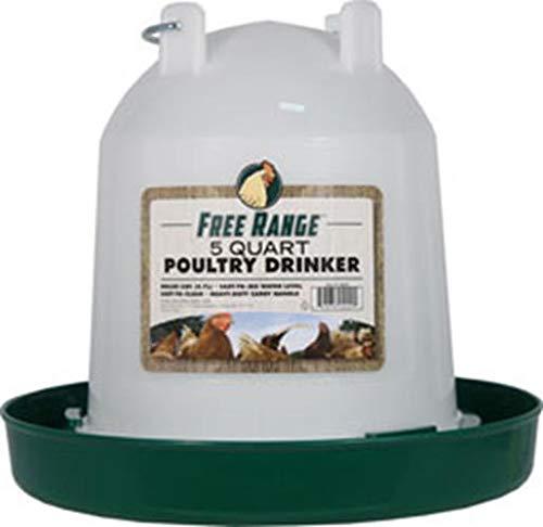 Harris Farms Plastic Poultry Drinker, 5 ()
