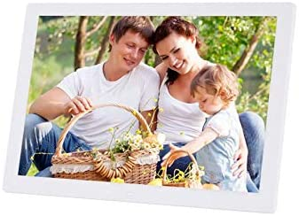 Hahaiyu Big Inch Electric Photo Frames Digital Android 1080P HDMI Full-View Multimedia Player Wall Decoration,White 19201080,17Inch
