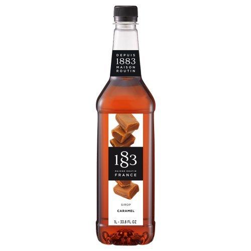 Maison Routin 1883 Caramel Syrup , 1 Liter Bottle