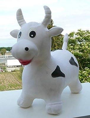 Soytisch – Animal saltarín hinchable, diseño de vaca