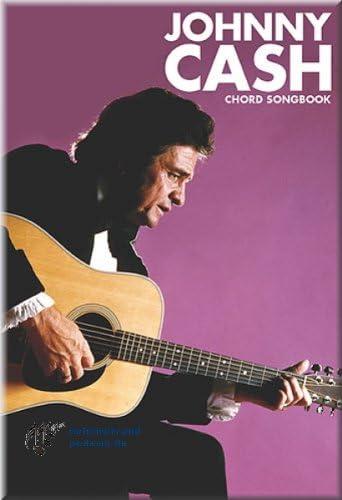 Johnny Cash. Libro de acordes de guitarra de sus canciones: Amazon ...
