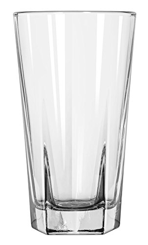 Libbey Glassware 15483 Inverness Beverage Glass, Duratuff, 12 oz. (Pack of 36)