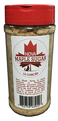 Nova Maple Sugar - Pure Grade-A Maple Sugar (12 Ounces)