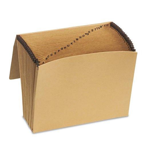 Pendaflex Essentials - Essentials A-Z Expanding File, 21 Pockets, Kraft, Letter, Brown K-17A-OX (DMi EA