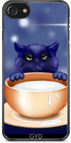 Coque pour Iphone 7 / Iphone 8 (4,7 '') - Fantaisie Chat Chaton Bébé Animal by WonderfulDreamPicture