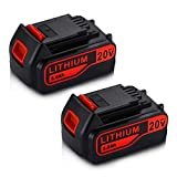 2Pack LBXR20 5.0Ah 20V Lithium-Ion Replacement for