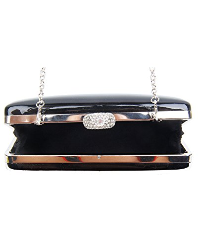 Shiny Bag Size Rhinestones Diamante Clutch 19 Redfox And gold Sparkling Evening Wedding Women's Crystals Different Shape npwqxBRHf