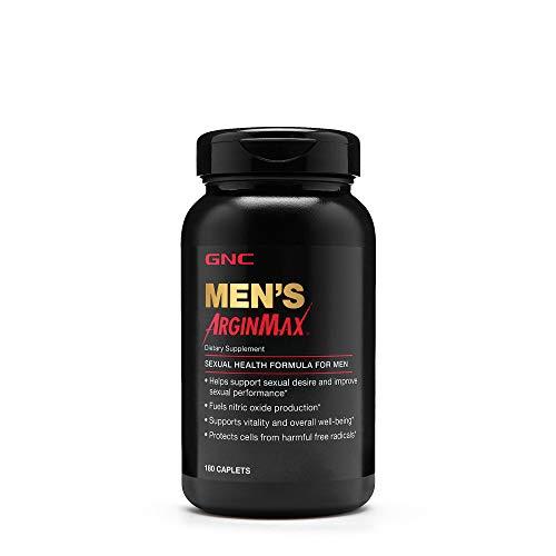 GNC Mens Arginmax, Sexual Health Formula for Men - 180 Caplets