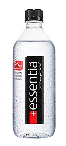 Essentia 9.5 pH Water 20 Oz Plastic Bottles - Pack of 24