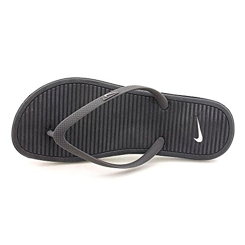 Nike Solarsoft Thong II Sandals Black 488161 019 Pool Shoes schwarz antracite