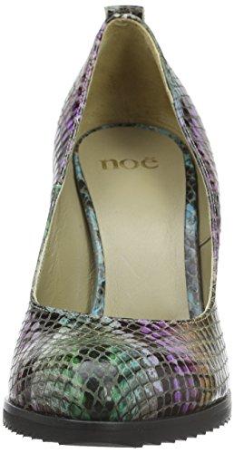 Cerrada Con Punta Antwerp Nabla abyss De Multicolor Zapatos Noe Para Mujer Tacón wXxF0qSX4