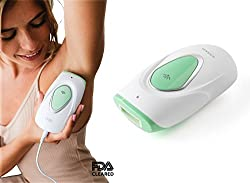 Sensilight Mini50 Permanent Hair Removal Device 50,000 Flashes FOR WOMEN. A home machine, using IPL technology. Great body and facial hair remover. Can be used on the leg, back, chest & upper lip