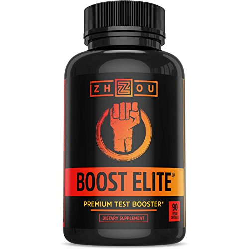 BOOST ELITE Test Booster Formulated to Increase T-Levels, Vi...