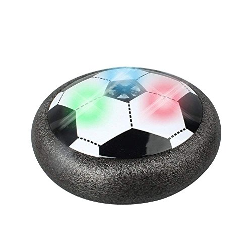 Svance Hover Soccer Ball with Colorful Lights, Air Power Soccer Disk for Indoor Soccer Training (5.9 Inch, Battery Not Include)
