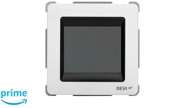 DEVI 140F1064 - Termostato para habitación y calefacción de suelo radiante: Amazon.es: Bricolaje y herramientas