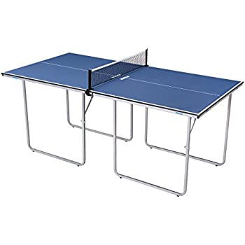 JOOLA Midsize Compact Table Tennis Table Great For Small Spaces And  Apartments U2013 Multi Use