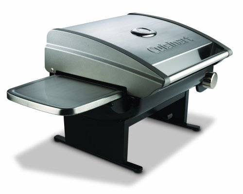 Cuisinart CGG-200 All-Foods 12,000-BTU Portable Outdoor Tabletop Propane Gas Grill, Outdoor Stuffs