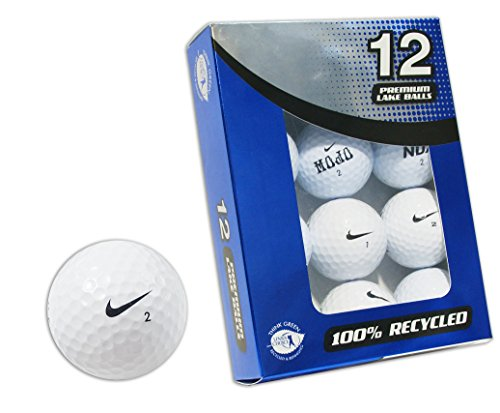 Second Chance 12er Pack Nike Lake Golfbälle, clam