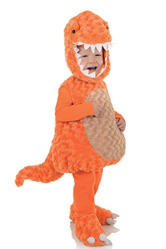 [Underwraps Baby's T-Rex Belly, Orange/Tan, Medium] (Trex Baby Costumes)