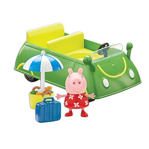 Peppa Pig - La Voiture de Vacances - Véhicule et Figurine