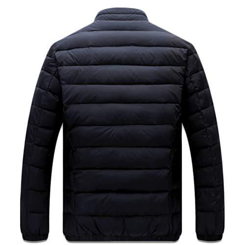 Down Down Slim Short Aiweijia Jacket Jacket Collar Men's qOvxRR7zt