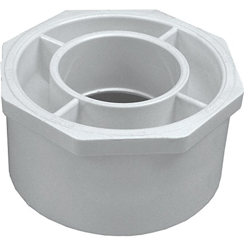 Manufacturers Direct Genova Products 30242 4 X 2 PVC Reducing Bushing ()