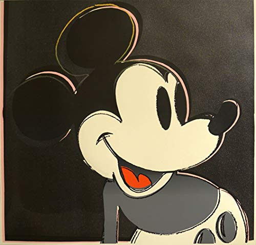 Andy Warhol Mickey Mouse - Edward Kurstak Gallery Mickey Mouse from Myths Portfolio by Andy Warhol