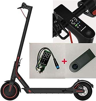 Theoutlettablet® LCD Tablero de Instrumentos Scooter eléctrico Xiaomi M365 Pro Reajustar Bluetooth Actualizar la Placa de Circuito con Cubierta de ...
