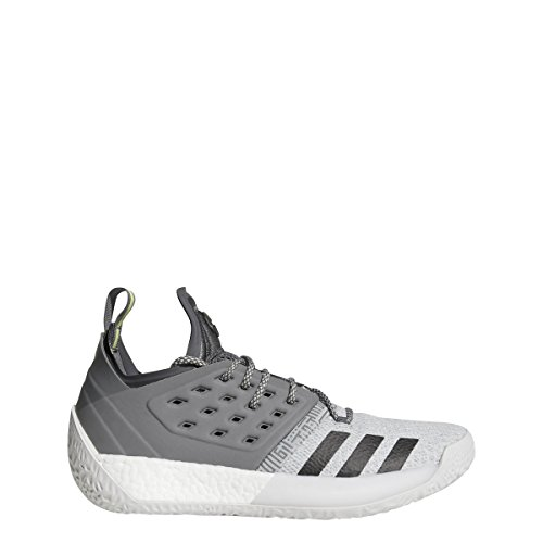adidas Harden Vol. 2 Concrete Shoe Mens Basketball 8.5 Grey Five-Grey Four