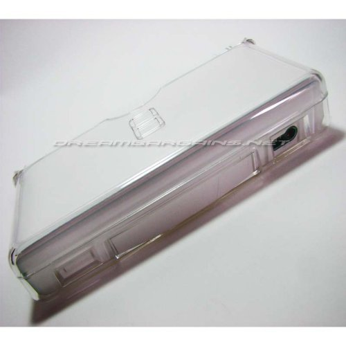 - DreamBargains Premium NDS Lite Crystal Case - Clear + Protective Screen Film