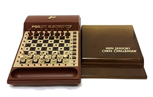 Vintage Fidelity Electronics Mini Sensory Chess Challenger Chess Computer Game